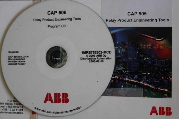 CAP505 V2.4 Relay product engineering tool