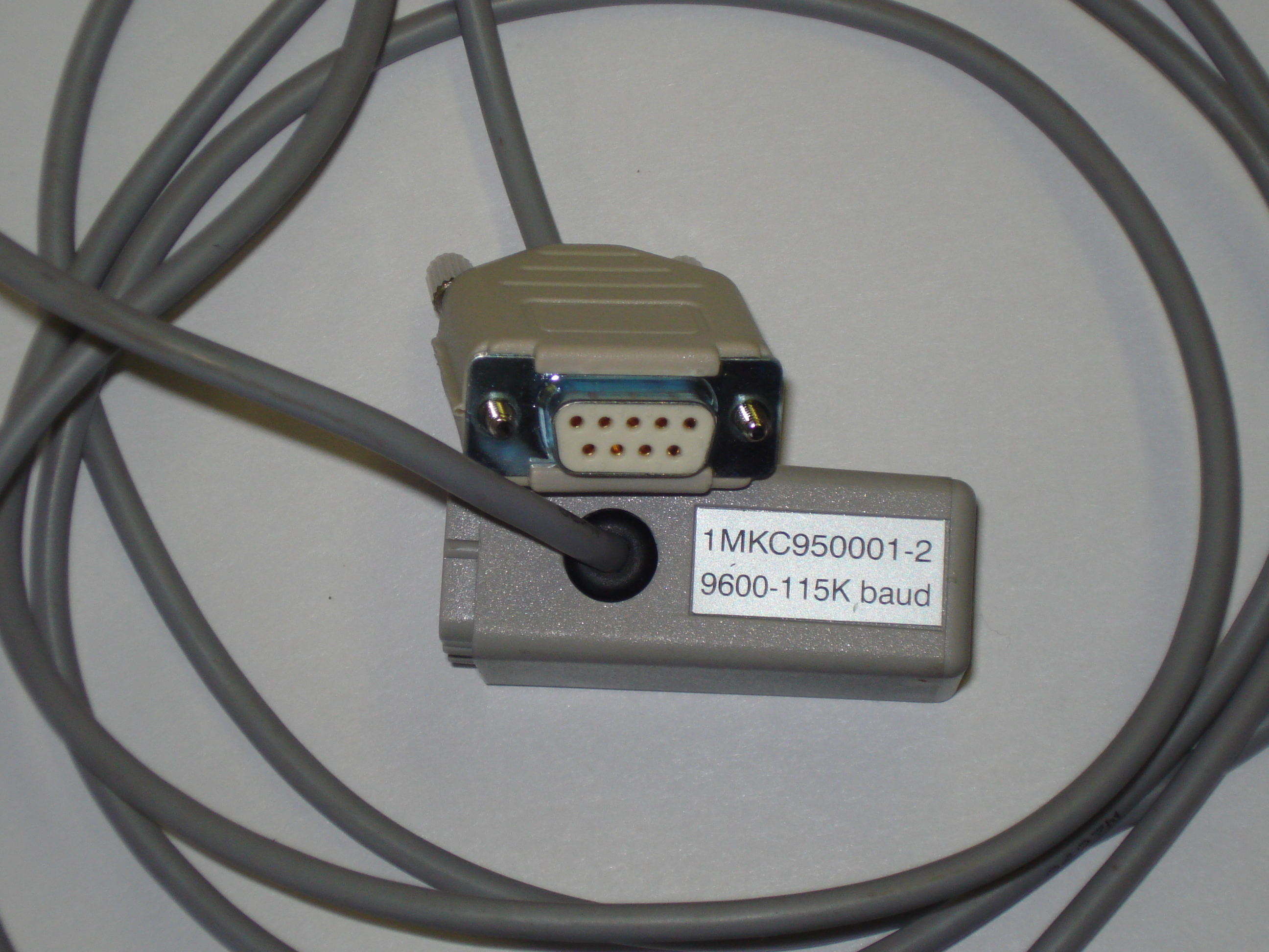 Configuration of communication settings for CAP505